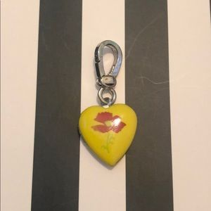 Juicy Couture Poppy Heart Locket Charm
